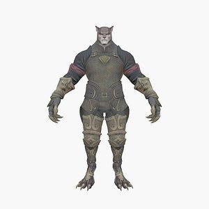3D Werewolf V5 model