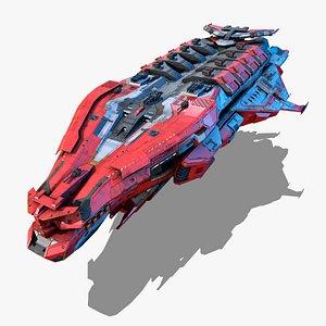 NEXTGEN - Typhon Destructor - Class XXII 3D model