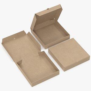 3D pizza boxes kraft paper