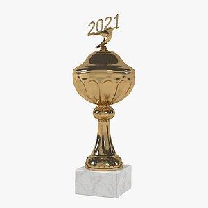 award trophy prize 3D model