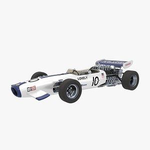 3D Lotus 49 B Pete Lovely model