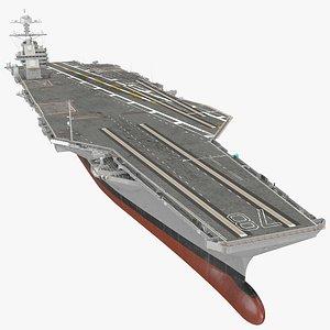 USS Gerald Ford Aircraft Carrier model