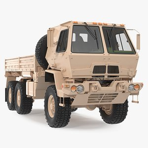 Oshkosh FMTV Cargo Truck 6x6 3D model