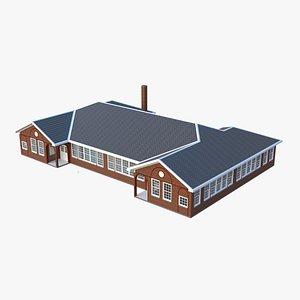 Victorian Community School 3D model
