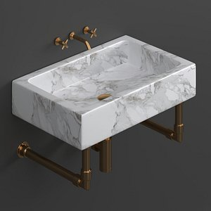 sink washbasin 3D model