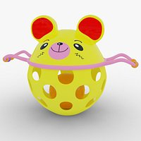 Baby Rattle Toy Bear