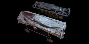 bodybags pbr body bag 3D model