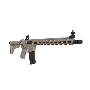ar-15 gun 3D model