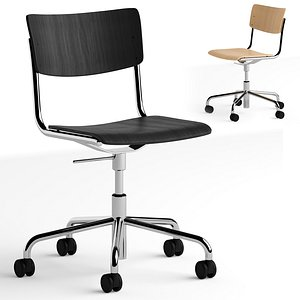 Thonet S 43 DR office chair 3D