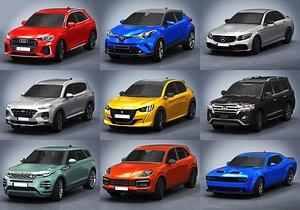 3D cars pack 3
