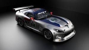 3D Dodge Viper GTS-R 2013 FBX