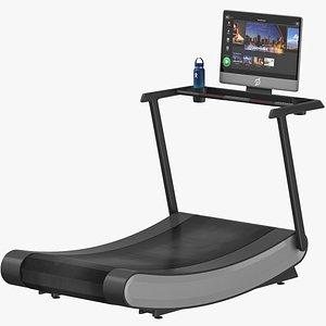 3D Curve Treadmill model