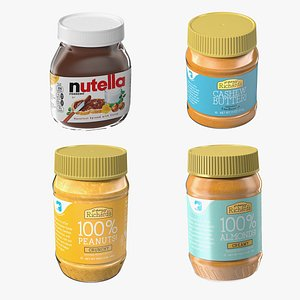 Nut Butter Collection 2 3D