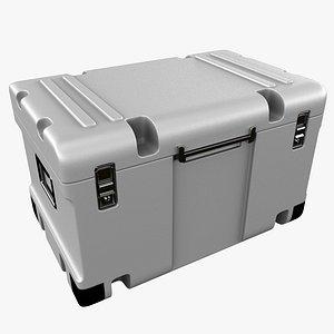 3D sci-fi box model