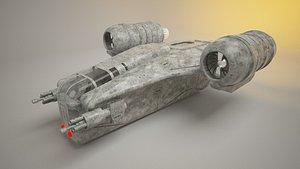 mando ship 3D model