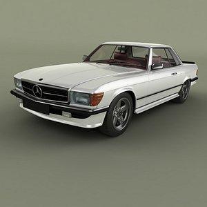 3D Mercedes-Benz 500SLC AMG model