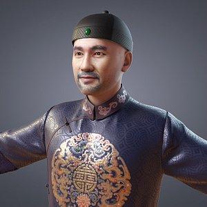china qing dynasty 3D