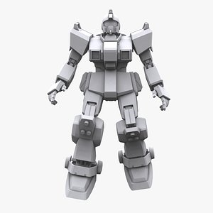 gundam mobile suit 3D