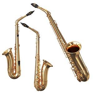 Saxophone 3D