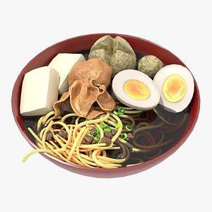noodle ball 3D model