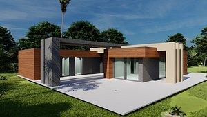 Modern House 4 3D model
