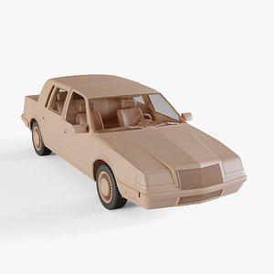 3D chrysler imperial model