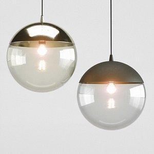 3D HM Metal pendant lights