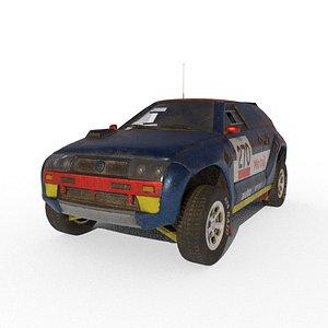 dakar car 3D model