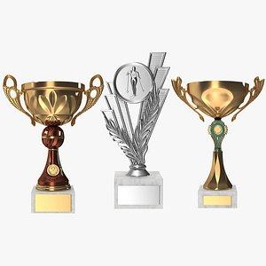 award cup war 3D model