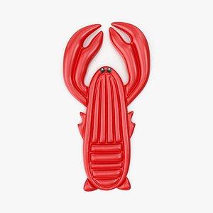 Lobster Inflatable Float 3D model