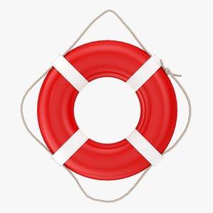 3D Life-buoy ring