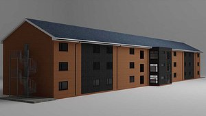 Building Accommodation 3D model