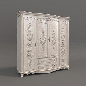 3D wardrobe classic model