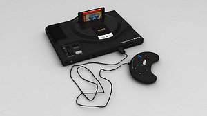 3D Sega Mega Drive 16 Bit