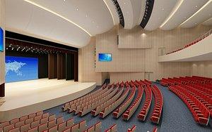 Theatre - Performing Arts Hall 3D model