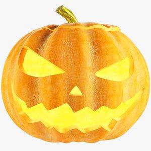3D Halloween Pumpkin V1 model