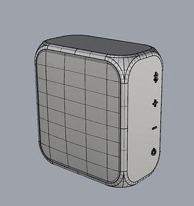 3D PORTABLE SPEAKER model
