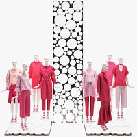 3D Showroom Fashion Store 017