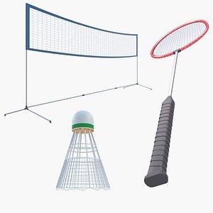 3D Badminton Collection 3