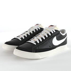 3D Nike Blazer Low 77 Vintage PBR
