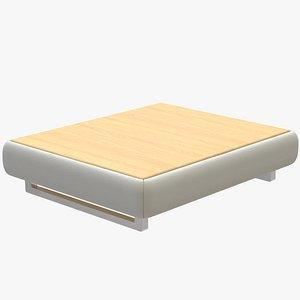 Low End Table BAOBABO 3D model