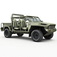 Electric Chevy Colorado ZR2 military ISV