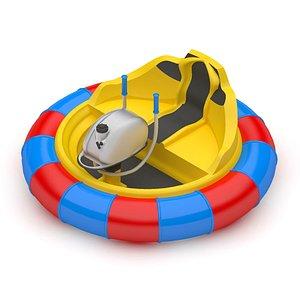 3D Bumper Boat model