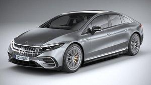Mercedes-Benz EQS53 AMG 2022 3D model