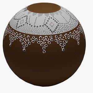 calabash pot 3D