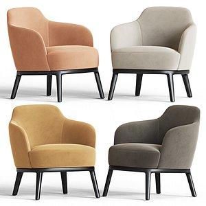 lucylle chair armchair 3D model