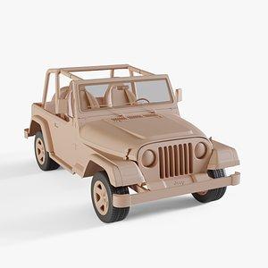 1997 Jeep Wrangler 3D