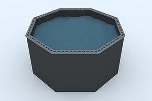 pond 3 3D model