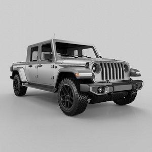 2019 Jeep Gladiator 3D model