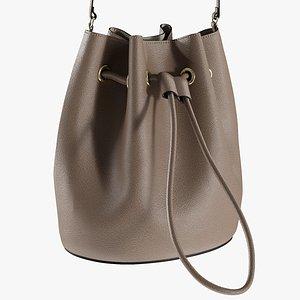 realistic women s bag 3D model